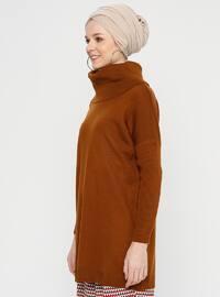 Tan - Polo neck - Tunic