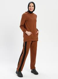 Tan - Tracksuit Set