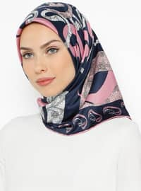 Dusty Rose - Printed - Scarf