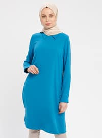 Turquoise - Point Collar - Tunic