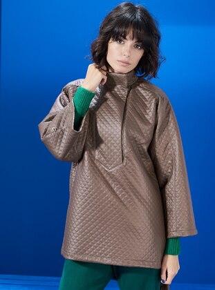 Beige - Puffer Jackets