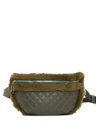 Khaki - Clutch - Bum Bag