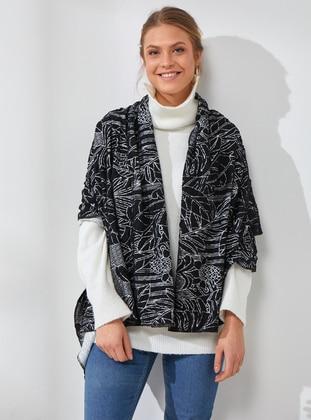 Cotton - Multi - Printed - Shawl Wrap