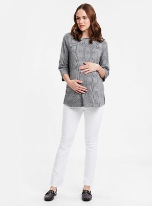 White - Maternity Pants