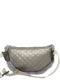 Gray - Clutch - Bum Bag