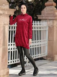 Fuchsia - Polo neck - Tunic
