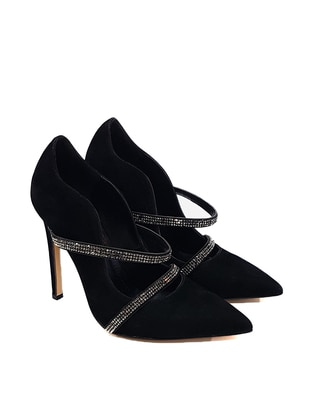 Black - High Heel - Casual - Evening Shoes