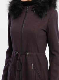 Purple - Fully Lined - Coat