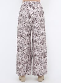 Minc - Floral - Plus Size Pants