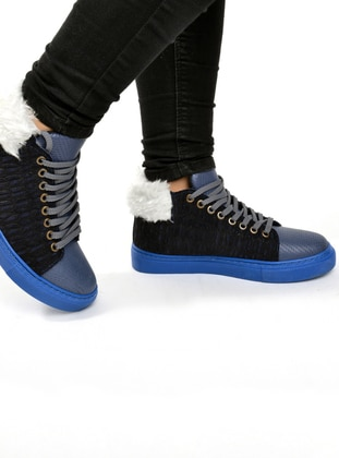 Navy Blue - Indigo - Boot - Boots