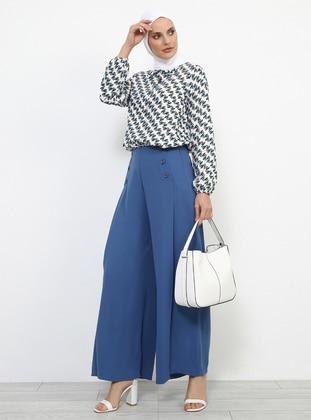 Blue - Indigo - Culottes