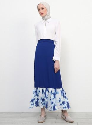 Saxe - Multi - Unlined - Skirt