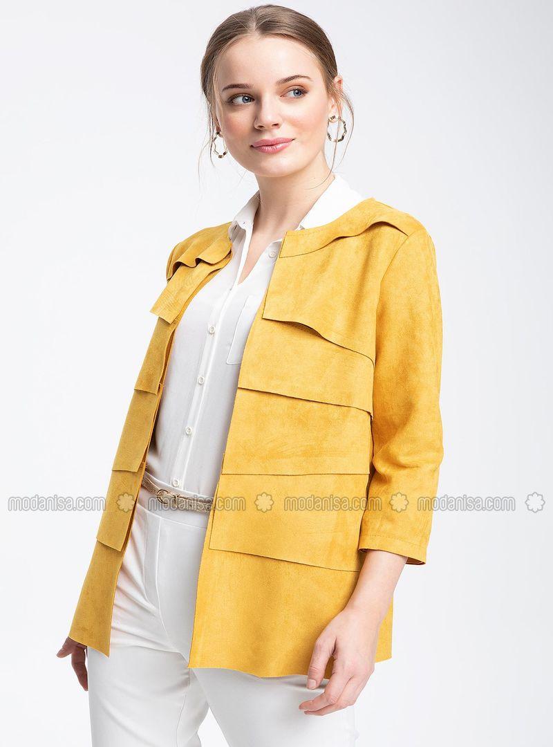 ddf07c5da Yellow - Puffer Jackets