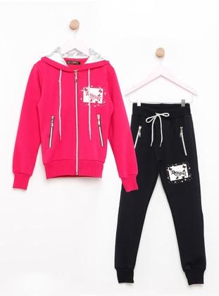 Pink - Fuchsia - Kids Pijamas