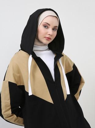 Black - Mustard - Unlined - Topcoat
