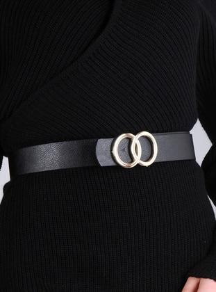 Black - Belt - Pembe Potin