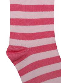 Pink - Cotton - Socks
