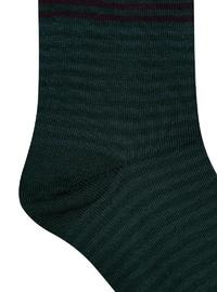 Green - Cotton - Socks