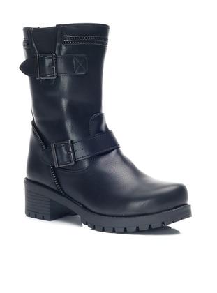 Black - Boot - Boots - Ayakkabı Modası