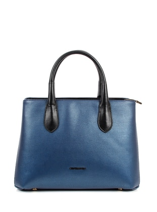 Black - Navy Blue - Shoulder Bags