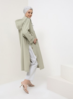 - Unlined - Viscose - Trench Coat - Benin