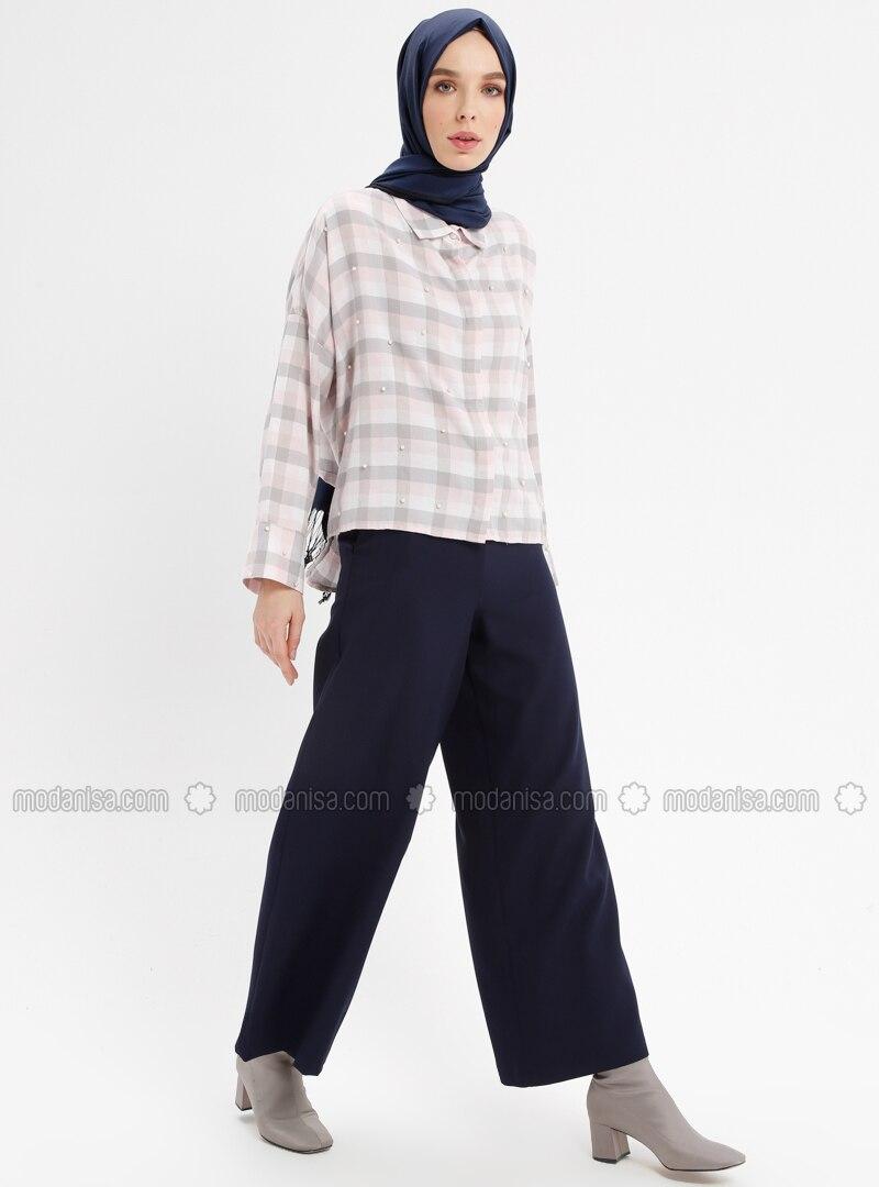 Navy Blue - Pants