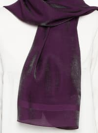 Purple - Plain - Shawl