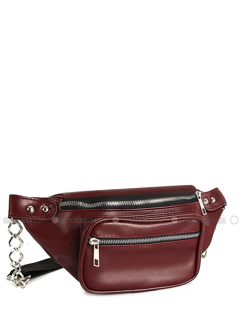 Maroon - Satchel - Bum Bag