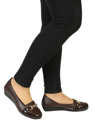 Brown - Flat - Shoes