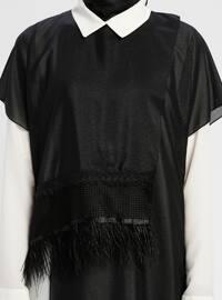 Black - White - Ecru - Unlined - Suit