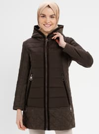 Brown - Fully Lined - Coat