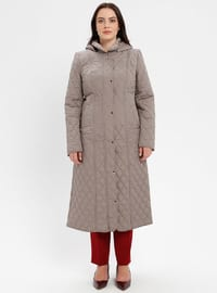 Minc - Fully Lined - Plus Size Overcoat