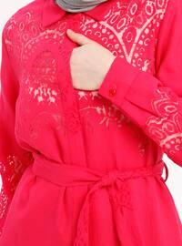 Fuchsia - Point Collar - Tunic