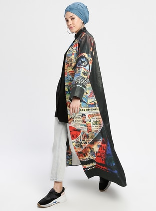 Multi - Ethnic - Multi - Unlined - Abaya