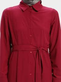 Cherry - Point Collar - Unlined - Dress