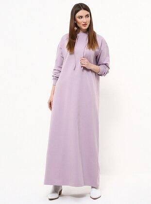 Lilac - Cotton - Dress