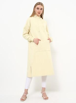 Yellow - Polo neck - Tunic