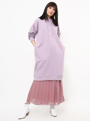 Purple - Cotton - Tunic