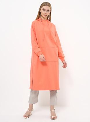 Coral - Polo neck - Tunic