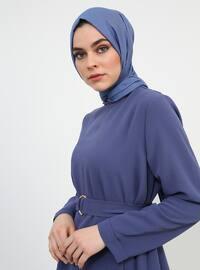 Indigo - Polo neck - Tunic