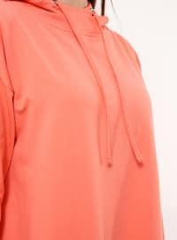 Coral - Cotton - Dress