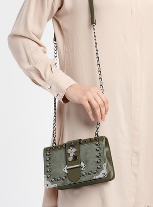 Green - Khaki - Shoulder Bags