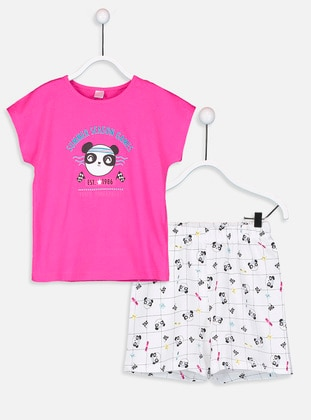 Fuchsia - Kids Pijamas - LC WAIKIKI