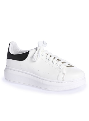 Black - White - Sport - Casual - Shoes