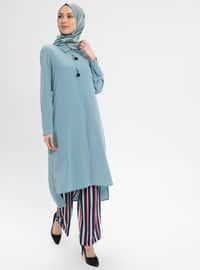 Mint - Point Collar - Tunic