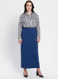 Indigo - Fully Lined - Plus Size Skirt