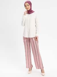 Powder - Stripe - Pants