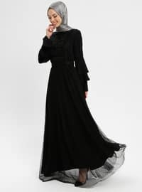 Black - Polo neck - Fully Lined - Dresses