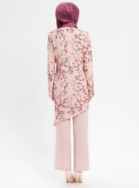 Powder - Floral - Unlined - Suit