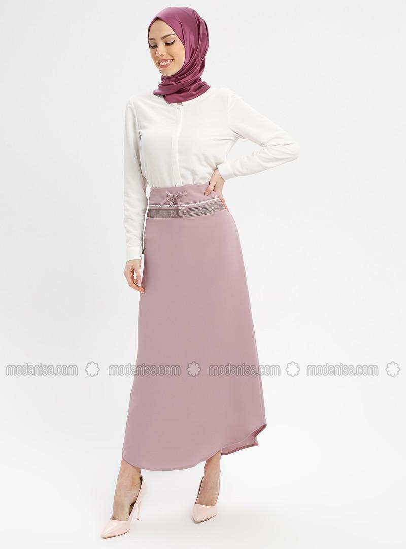 Dusty Rose - Fully Lined - Skirt